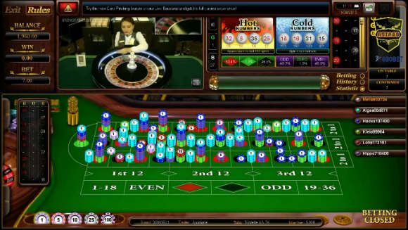 Salah satu permainan casino sbobet